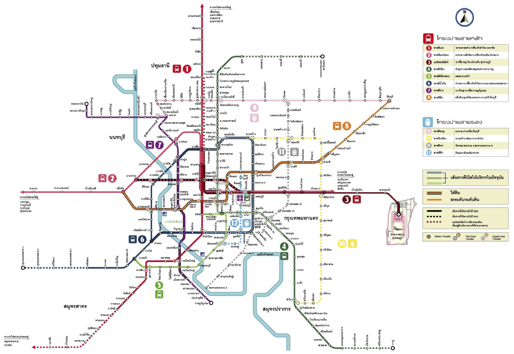 M-MAP Schematic Diagram, 2010, Office of Transport and Traffic Policy and Planning (public domain)
